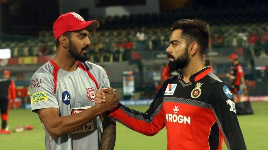 IPL 2020 : Kings XI Punjab vs Royal Challengers Bangalore Head To Head KL Rahul Virat Kohli- India TV Hindi