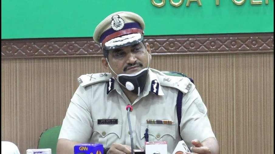 गोवा के DGP मुकेश मीणा को हुआ कोरोना, पॉजिटिव आई रिपोर्ट- India TV Hindi