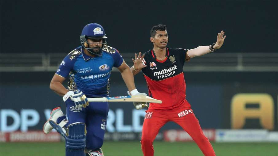 RCB vs MI: Navdeep Saini bowler with this special plan in super over against Mumbai, now revealed- India TV Hindi