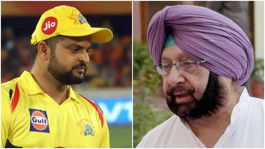 Suresh Raina and Captain Amrinder Singh- India TV Hindi