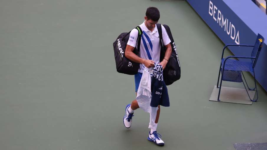 'I will take it as a big lesson with all seriousness,' said Djokovic at the US Open mistake- India TV Hindi