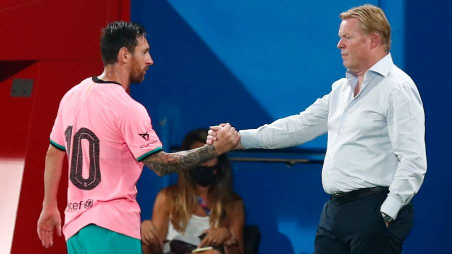 Lionel Messi shines in friendly match against Girona, scored so many goals- India TV Hindi