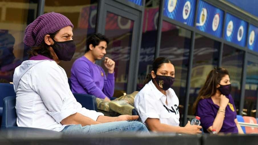 Shah Rukh Khan, Dubai, IPL, IPL 2020, KKR, KKR vs RR, Kolkata Knight Riders, Shah Rukh Khan in Dubai- India TV Hindi