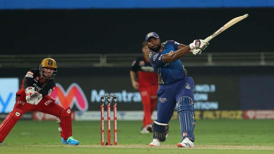 RCB vs MI Live cricket score Royal Challengers Bangalore VS Mumbai Indians ball to ball updates IPL - India TV Hindi