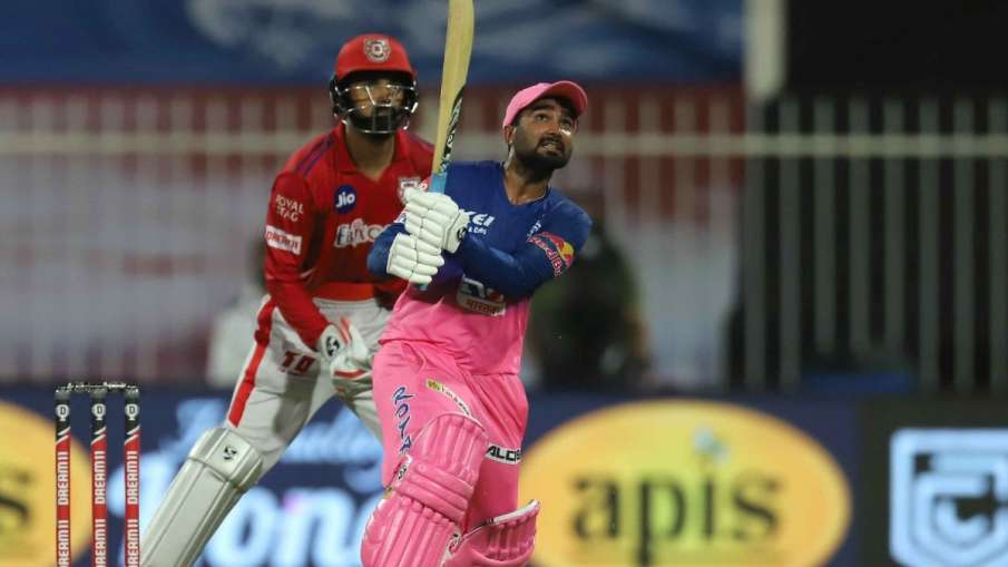KXIP vs RR: how Rahul Tewatia became 'hero' from 'villain', 5 sixes in one over to Cottrell- India TV Hindi