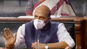 Defence Minister Rajnath Singh in parliament- India TV Hindi