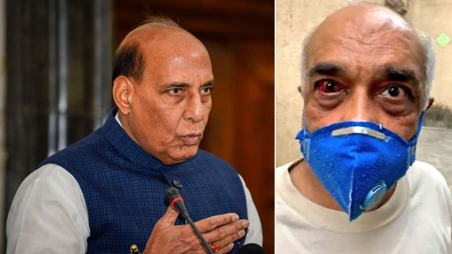 Rajnath Singh speak to retired naval officer Madan Sharma attacked by hooligans in Mumbai- India TV Hindi