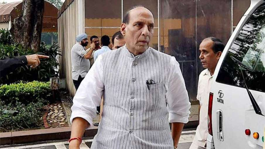 India-China Border Tension: Defence Minister Rajnath Singh Chairs High-Level Meeting- India TV Hindi