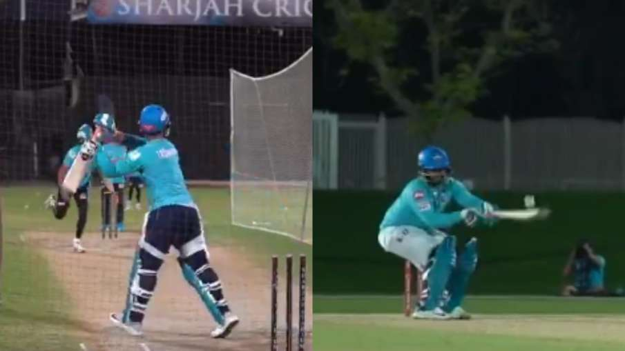 IPL 2020: Rishabh Pant fireworks with bat, reverse scoop shot with helicopter shot- India TV Hindi