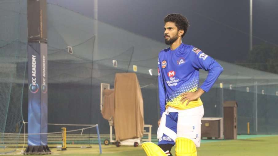 IPL 2020 : CSK player ruturaj gaikwad emerged from Coronavirus, will join the team on Monday- India TV Hindi
