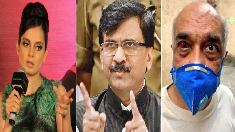 Sanjay Raut retired Navy officer Madan Sharma attack Kangana Ranaut BJP Shiv Sena latest news- India TV Hindi
