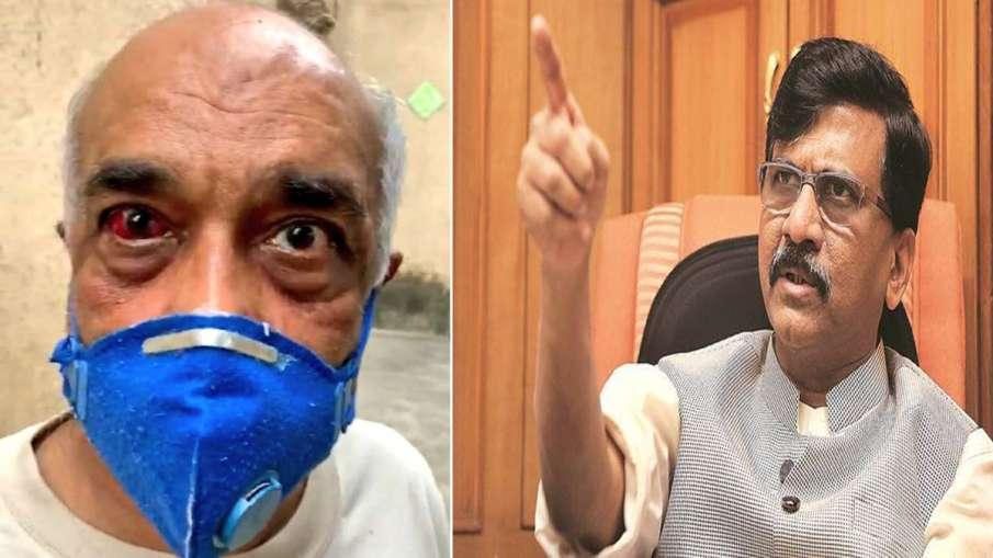 Sanjay Raut on attack navy veteran Madan Sharma by Shiv Sena workers- India TV Hindi