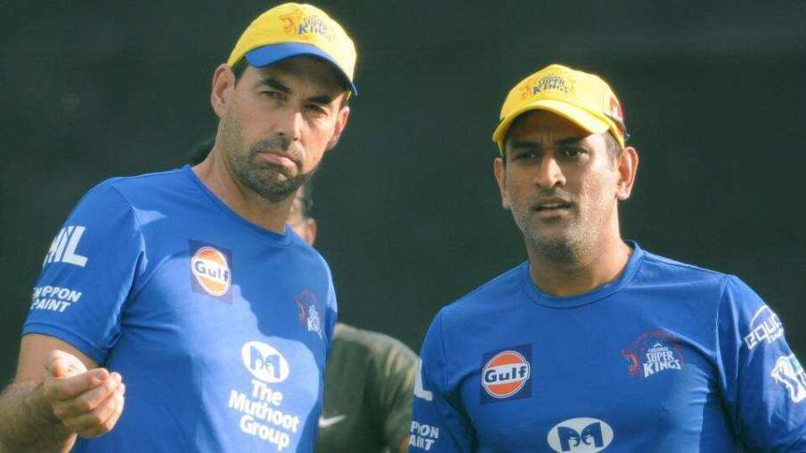 Stepphen Fleming and MS Dhoni- India TV Hindi
