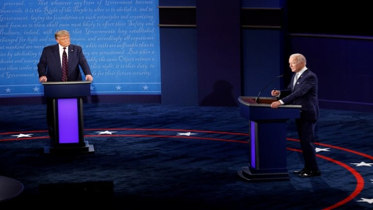 क्या चुनाव हारने पर सत्ता नहीं छोड़ेंगे अमेरिकी राष्ट्रपति डोनाल्ड ट्रंप? प्रेसिडेंशियल डिबेट में दि- India TV Hindi