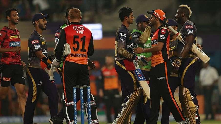 Kolkata Knight Riders vs Sunrisers Hyderabad Head To Head Match KKR vs SRH- India TV Hindi