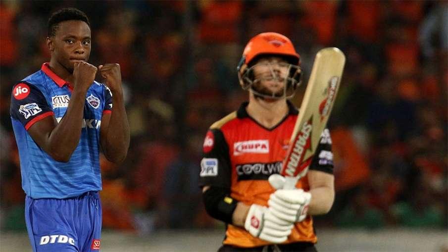 Delhi Capitals vs Sunrisers Hyderabad Head To Head Match Preview And Stats DC vs SRH- India TV Hindi