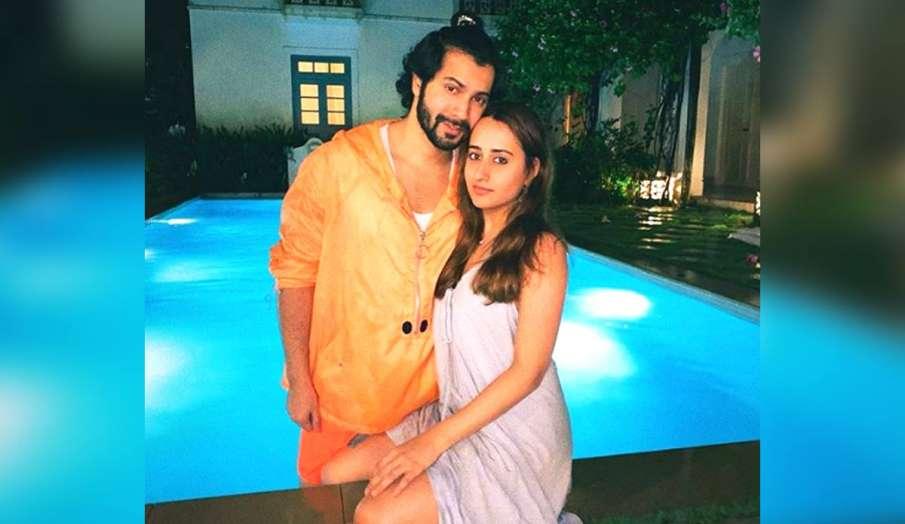 varun dhawan shares pic with girlfriend natasha dalal- India TV Hindi