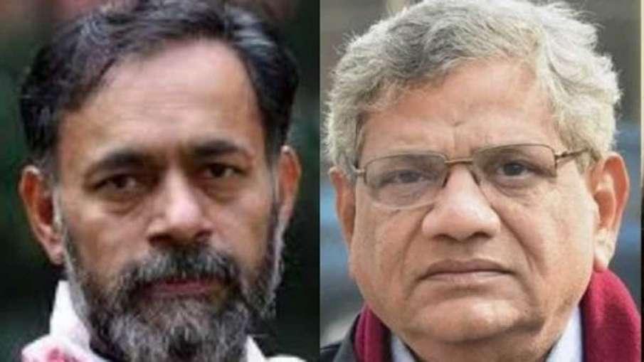 Delhi riots: Police name Yechury, Yogendra Yadav, Jayati Ghosh in supplementary charge sheet- India TV Hindi