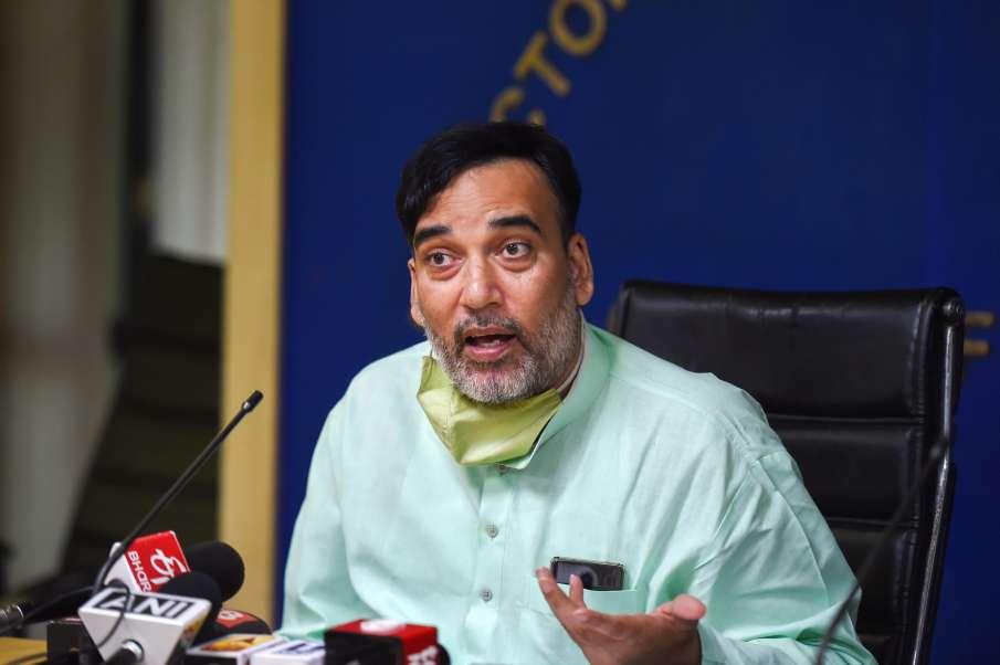 धूल के प्रदूषण को कम करने के लिए PWD ने 23 एंटी स्मोग गन लगाए: गोपाल राय- India TV Hindi