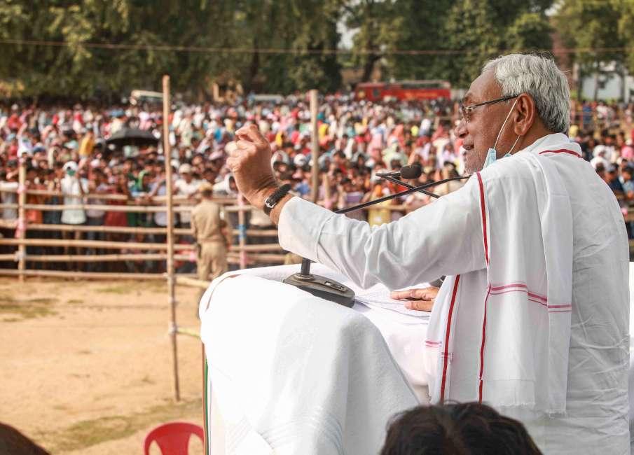 नीतीश कुमार ने RJD पर साधा निशाना, कहा- मौका मिलने पर अपना हित साधा- India TV Hindi