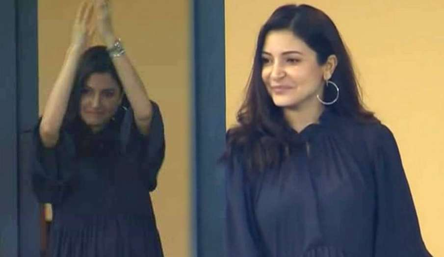 Anushka Sharma in RCB vs csk match - India TV Hindi