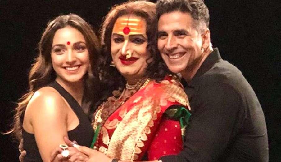 akshay kumar and kiara advani on the kapil sharma show sets- India TV Hindi