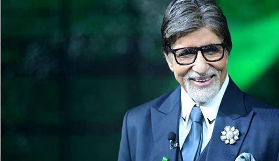 अमिताभ बच्चन ने शेयर की शूटिंग की तस्वीरें, कहा- सुबह सिर्फ खुद का करना पड़ता है सामना- India TV Hindi