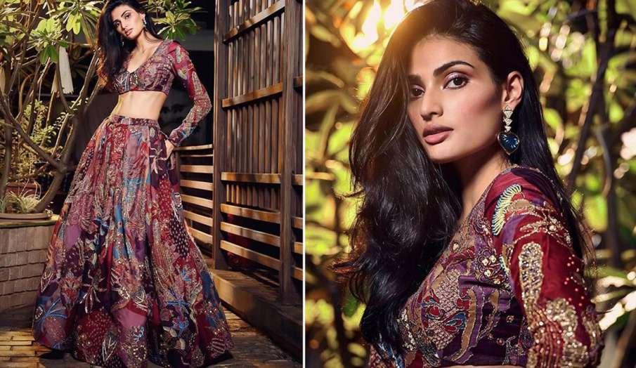 Lakme Fashion Week 2020: आखिरी दिन आथिया शेट्टी स्टनिंग लुक में आईं नजर, देखें तस्वीरें- India TV Hindi