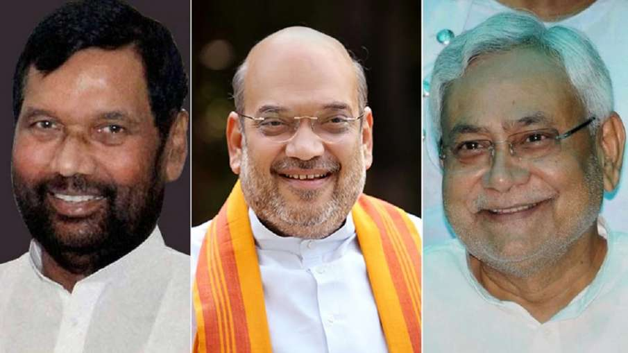 BJP JDU LJP seat sharing formula Chirag Paswan unlikely to get more than 25 seats sources says- India TV Hindi