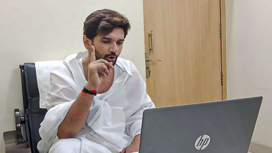 Bihar Election 2020 News Chirag Paswan says I am hanuman of PM Modi । Video: 'मैं पीएम मोदी का हनुमा- India TV Hindi