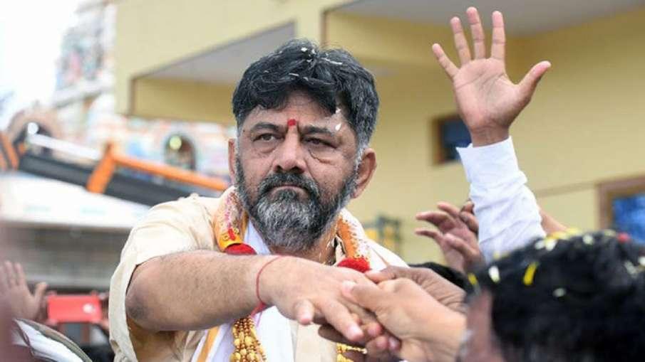 CBI raid at Karnataka Pradesh Congress President DK...- India TV Hindi