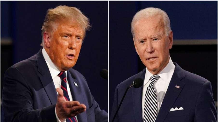 Joe Biden is a disaster, corrupt politician: Donald Trump- India TV Hindi