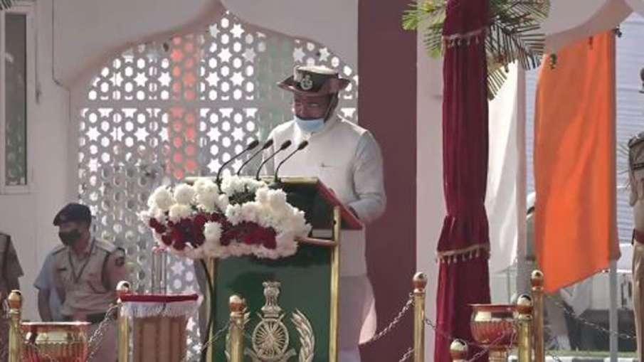 MoS Home, G Kishan Reddy at ITBP 59th Raising Day Parade...- India TV Hindi