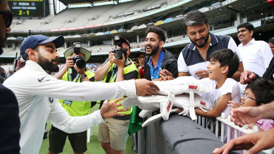Allowed for entry of spectators in the Boxing Day Test played between India and Australia- India TV Hindi