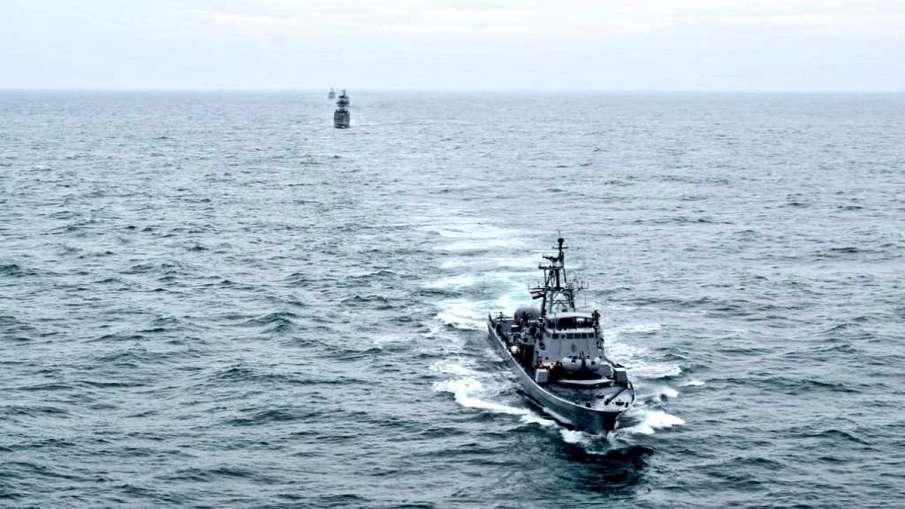 Indian and Sri Lankan navies will conduct a three-day exercise । भारत और श्रीलंका की नौसेनाएं सोमवार- India TV Hindi