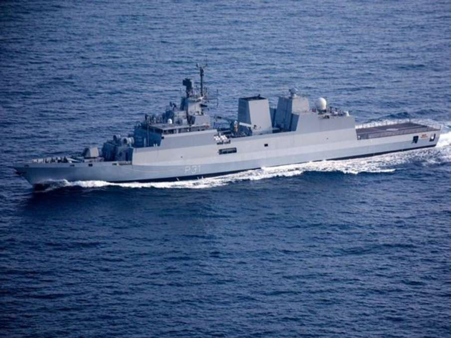 Indigenously-built stealth corvette INS Kavaratti commissioned into Navy- India TV Hindi