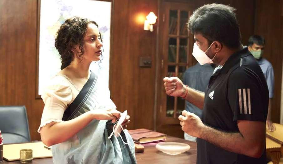 kangana ranaut Thalaivi shooting set pics- India TV Hindi