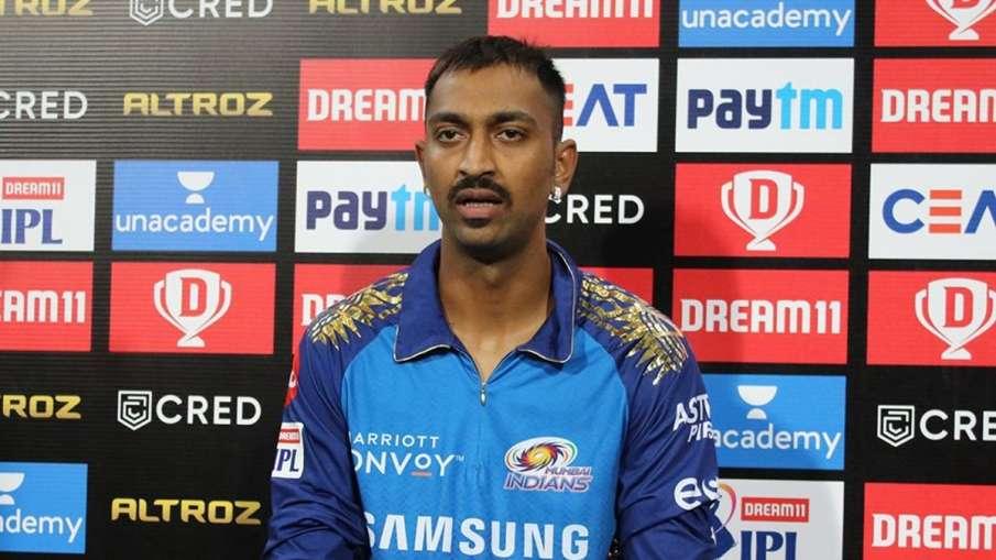 Krunal Pandya, sports, Mumbai Indians, DRI, Mumbai Airport - India TV Hindi