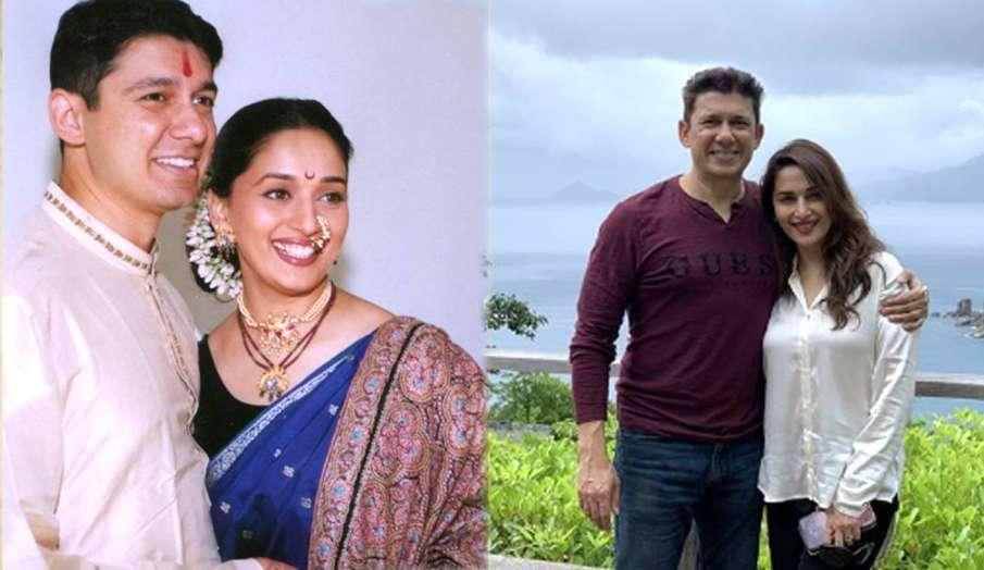 madhuri dixit shriram nene 21st wedding anniversary- India TV Hindi