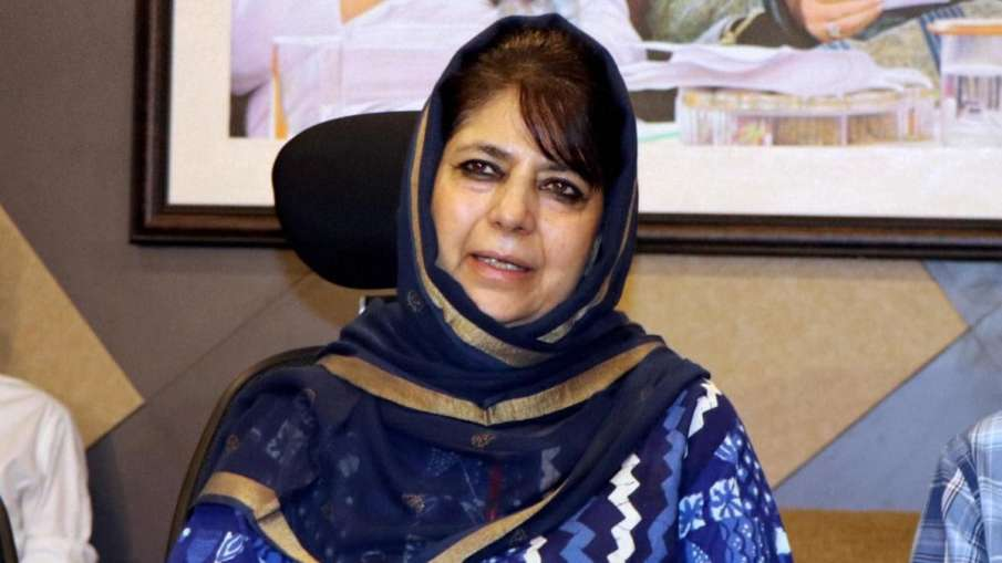 Mehbooba Mufti says, will unfurl tricolour only when 'J&K flag' is allowed to be raised- India TV Hindi