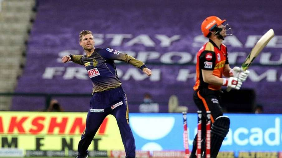 David Warner, Ferguson, SRH vs KKR, IPL, IPL 2020, cricket, sports- India TV Hindi