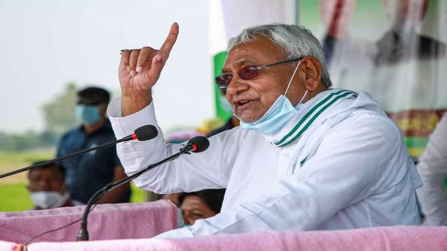 Nitish Kumar gets angry after listening Murdabad slogan...- India TV Hindi