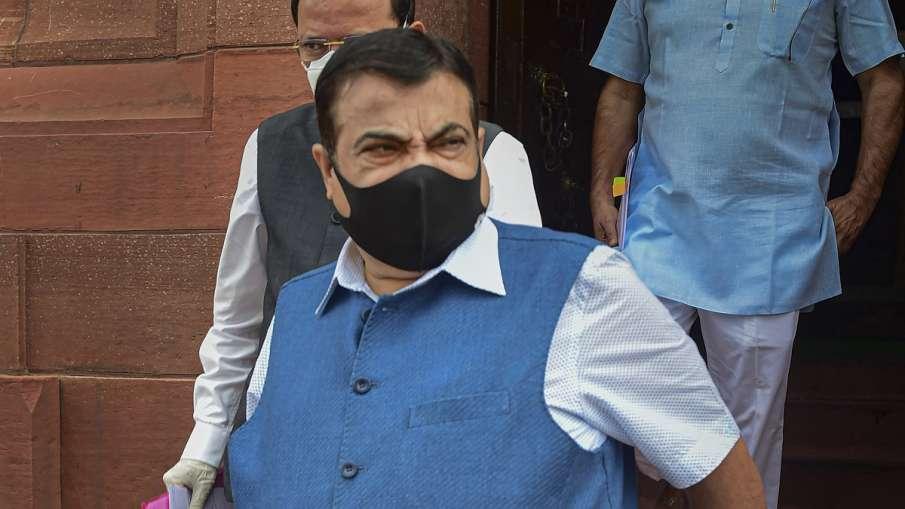 Nitin Gadkari scolds NHAI officers for slow speed of work ।  9 साल में बिल्डिंग बनने से गडकरी नाराज,- India TV Hindi
