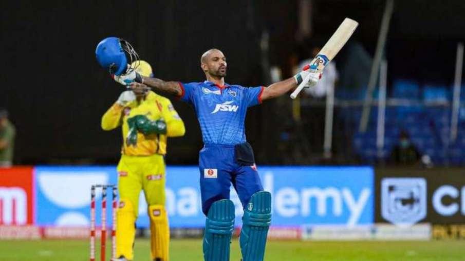 Shikhar Dhawan Most innings to maiden IPL century Broke Virat Kohli record DC vs CSK- India TV Hindi