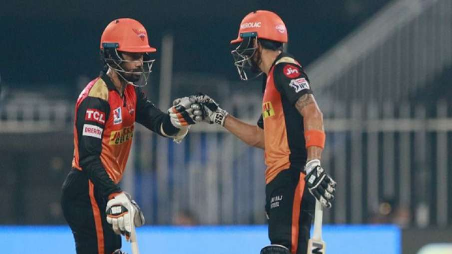 Live Score RCB vs SRH live cricket score IPL 2020 match 52nd Royal Challengers Bangalore vs Sunriser- India TV Hindi