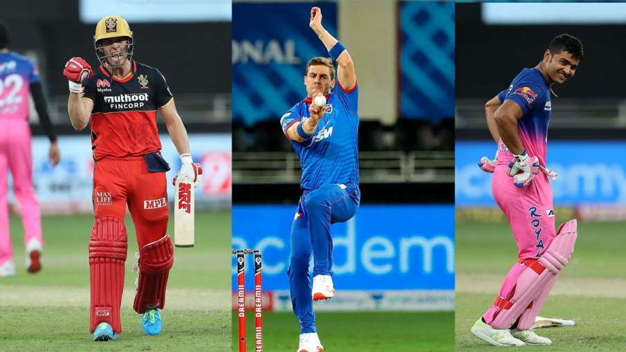 In the third week of IPL 2020 AB de Villiers showed 360 degree style and Anrich Nortje bowled the fa- India TV Hindi