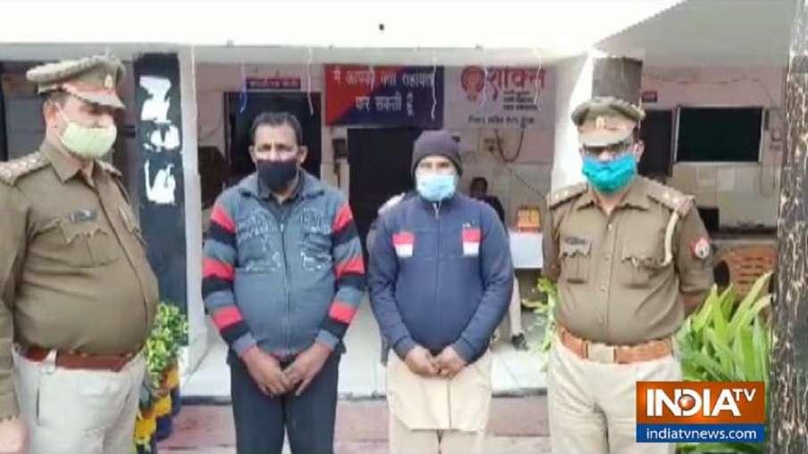 गाजियाबाद पुलिस को मिली बड़ी कामयाबी, 25-25 हजार रुपये के दो इनामी लुटेरे गिरफ्तार- India TV Hindi