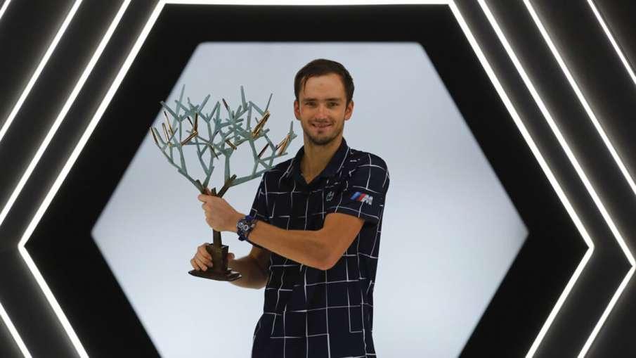 Paris Masters 2020: Daniil Medvedev defeats Alexander Zverev to win his maiden title- India TV Hindi