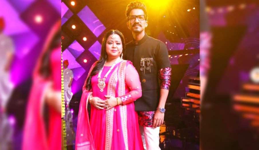 Bharti Singh and her husband Haarsh Limbachiyaa- India TV Hindi