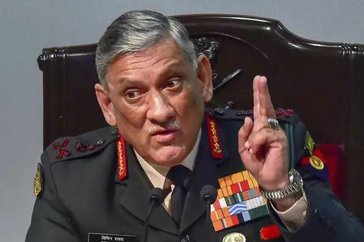 भारतीय बल देश की सीमाओं की रक्षा करने में कोई कसर नहीं छोड़ेंगे- बिपिन रावत- India TV Hindi